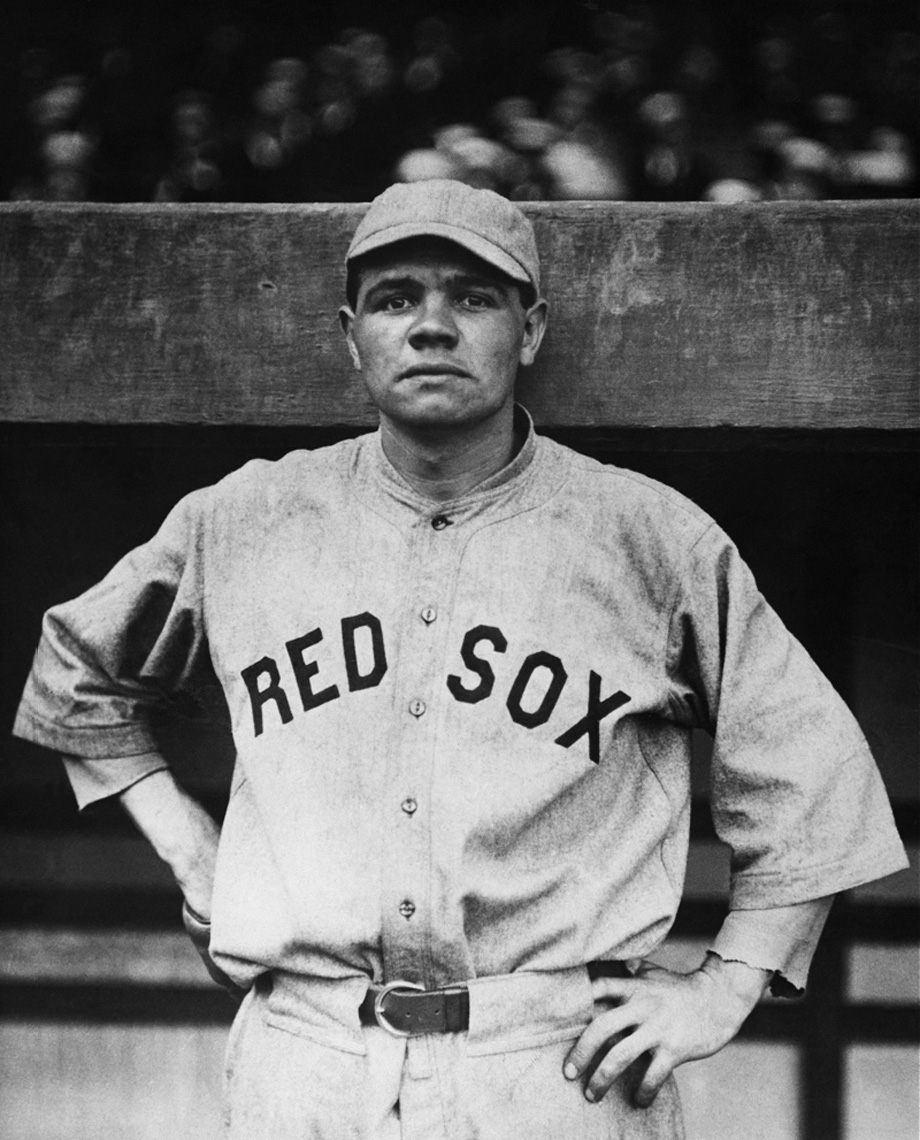 Babe Ruth (NATIONAL BASEBALL HALL OF FAME LIBRARY)