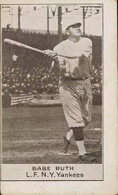 Babe Ruth (TRADING CARD DB)