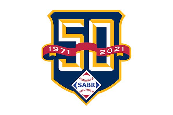 SABR 50th Anniversary logo
