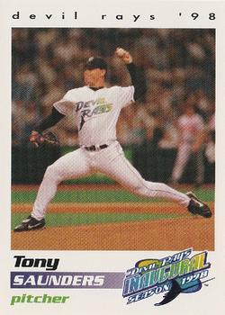 Tony Saunders (TRADING CARD DB)