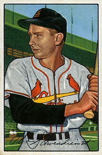 Red Schoendienst (TRADING CARD DB)