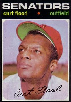 1971 Topps: Curt Flood