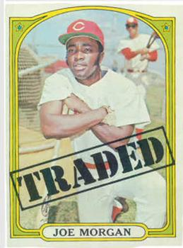1972 Topps Traded: Joe Morgan