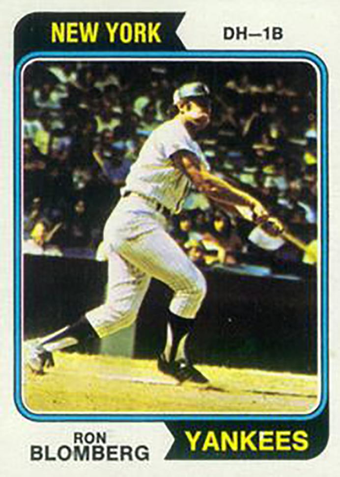 1974 Topps: Ron Blomberg