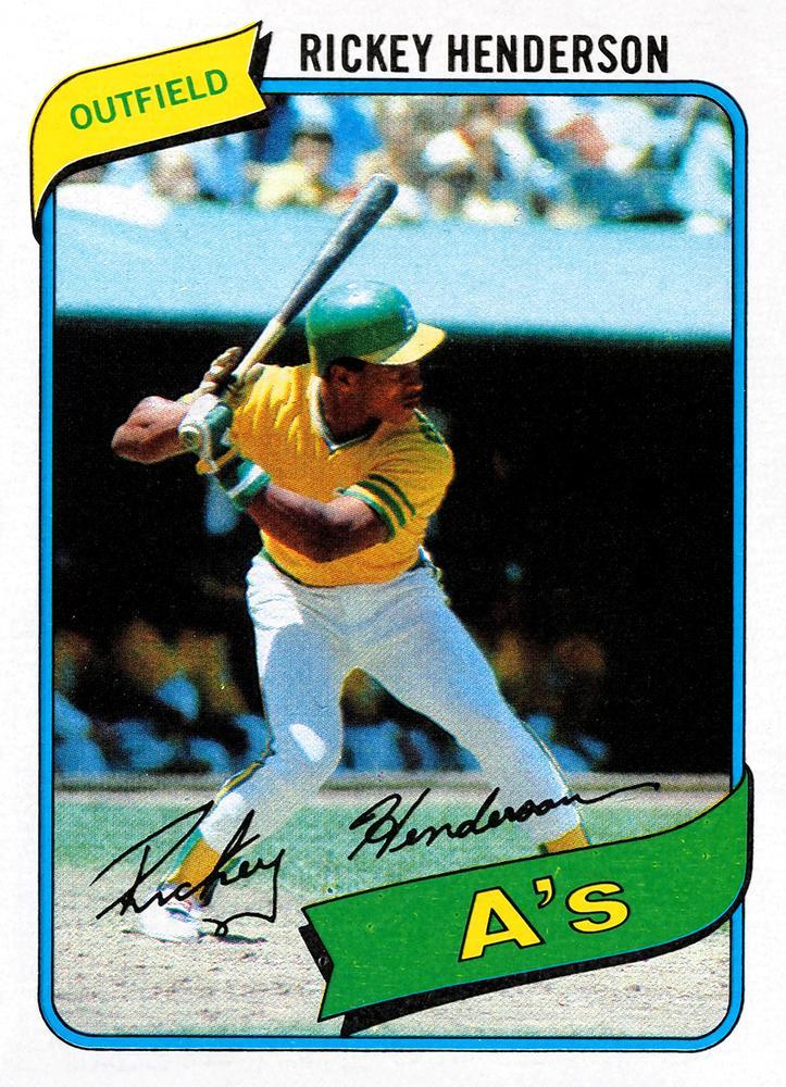 1980 Topps: Rickey Henderson