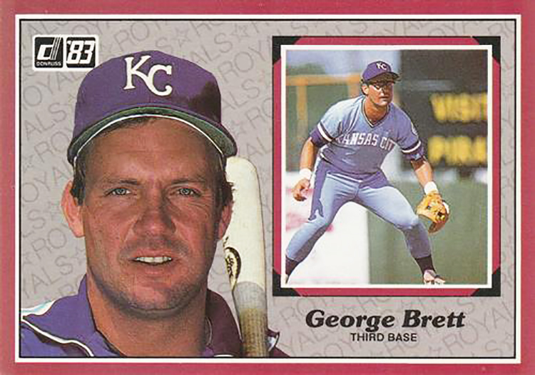 1983 Donruss Action All Stars: George Brett