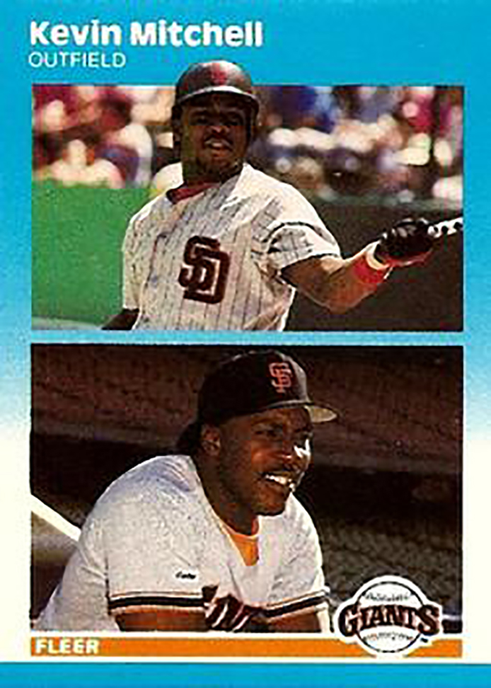 1987 Fleer Update: Kevin Mitchell