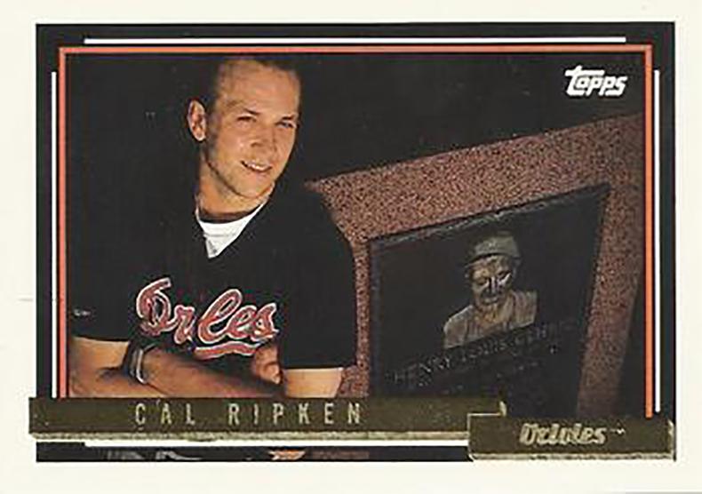 1992 Topps Gold: Cal Ripken Jr.