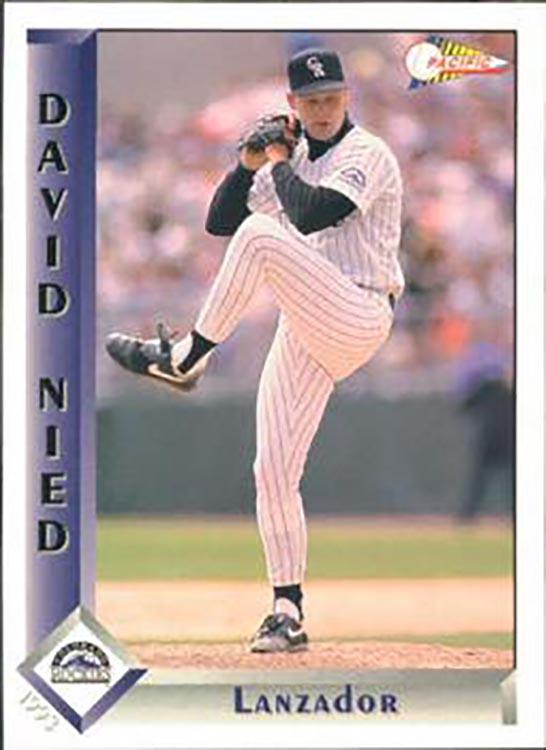 1993 Pacific: David Nied