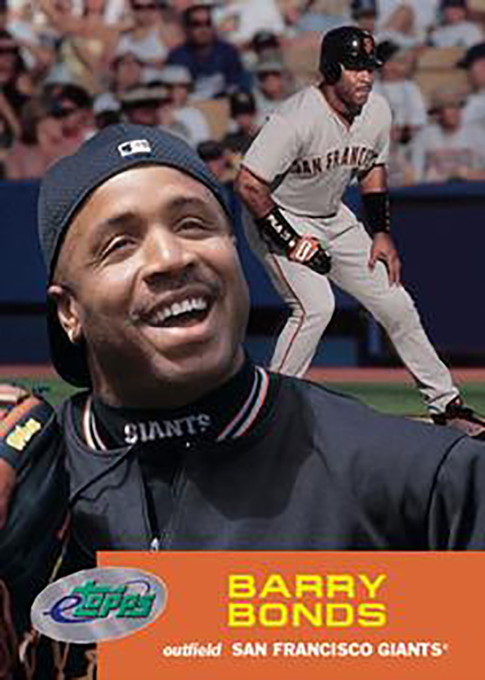 2001 eTopps: Barry Bonds
