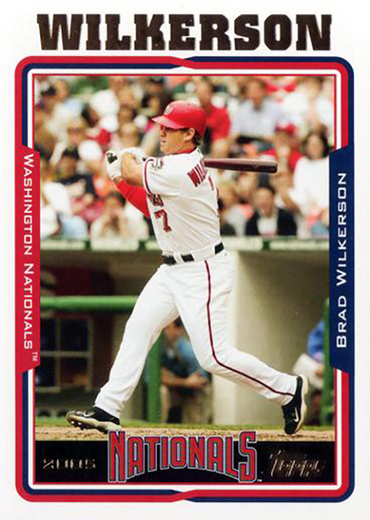 2005 Topps Update: Brad Wilkerson