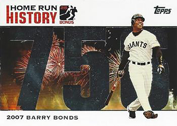 2007 Topps Home Run History: Barry Bonds