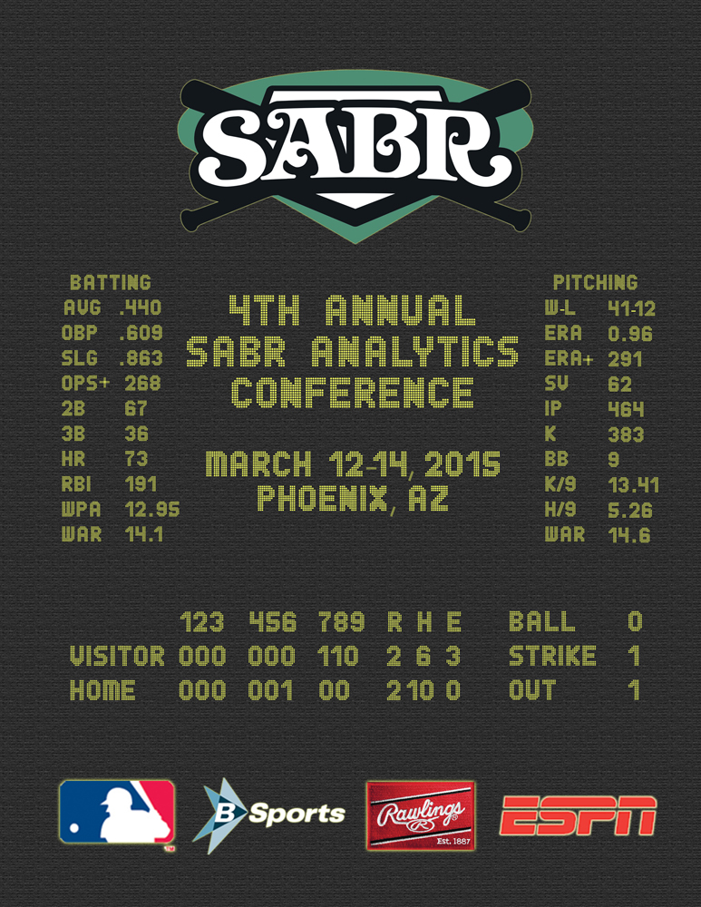 2015 SABR Analytics Conference