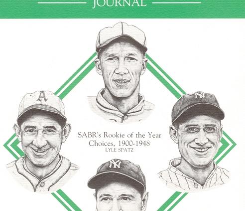 Baseball Research Journal #15 (1986)
