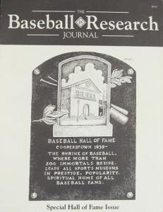 Baseball Research Journal #18 (1989)