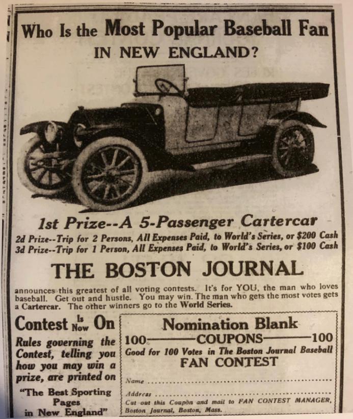 Boston Journal, June 12, 1913:8.