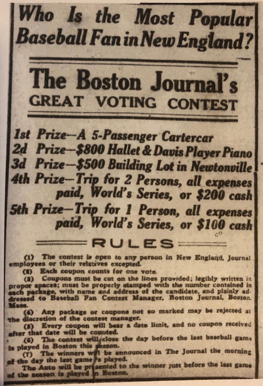 Boston Journal, September 18, 1913:8.