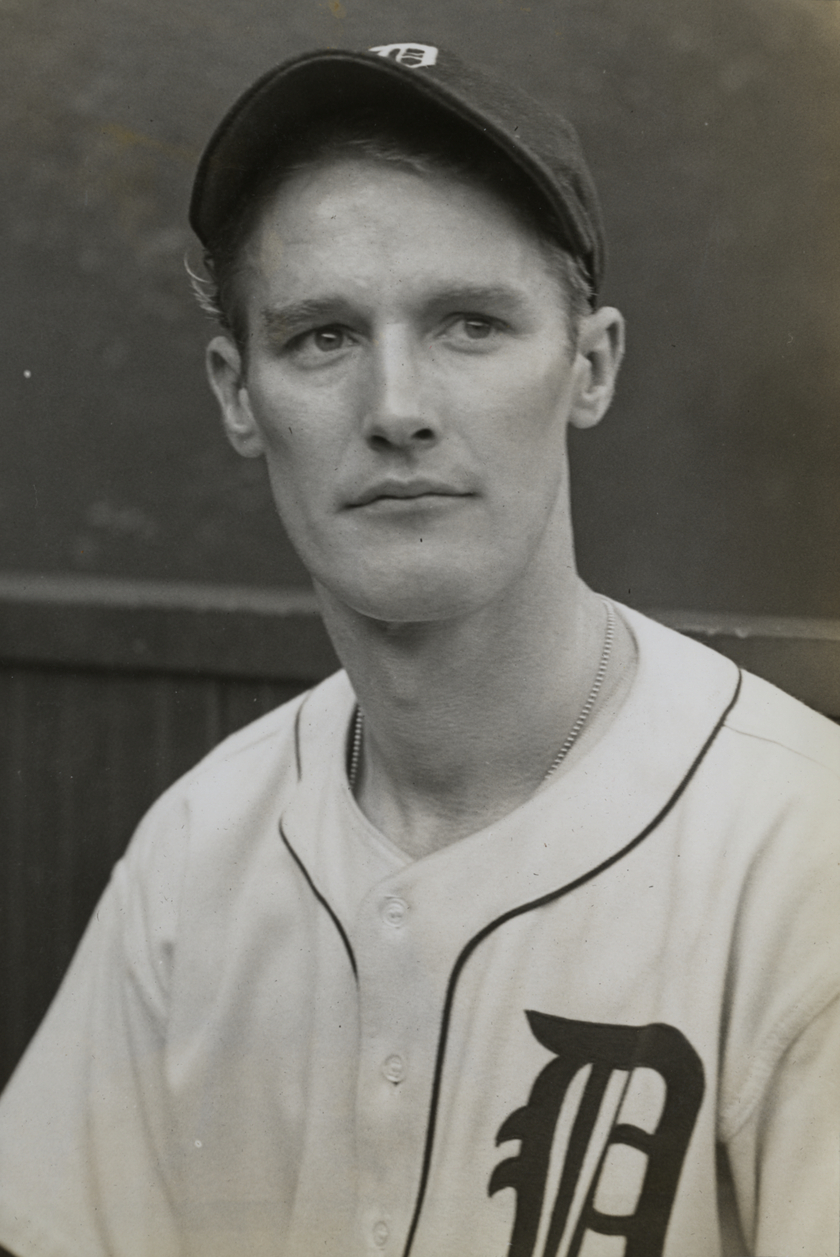 Floyd Giebell (DETROIT PUBLIC LIBRARY, ERNIE HARWELL COLLECTION)