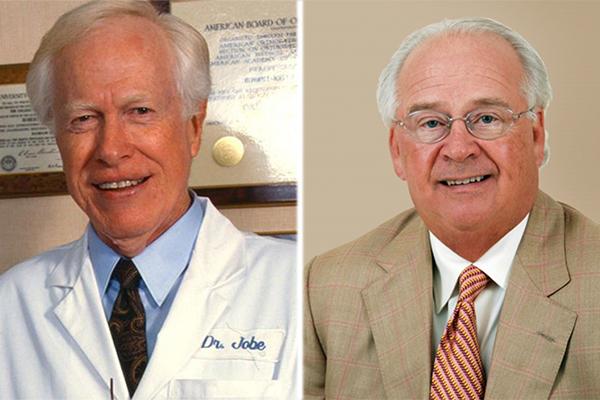 Dr. Frank Jobe and Dr. James Andrews (MLB.COM)