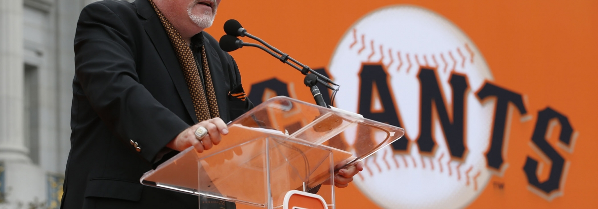 Brian Sabean (SAN FRANCISCO GIANTS)