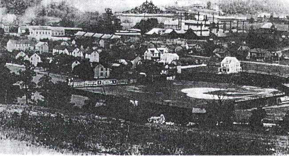 Columbia Park in Altoona, Pennsylvania, date unknown (SABR PICTORIAL HISTORY COMMITTEE)