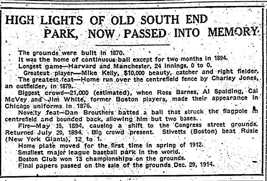 Boston Sunday Herald, January 3, 1915:32.
