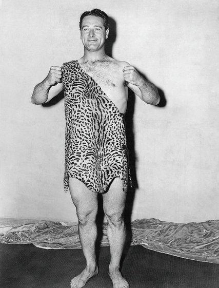 Lou Gehrig as Tarzan (COURTESY OF RON BACKER)