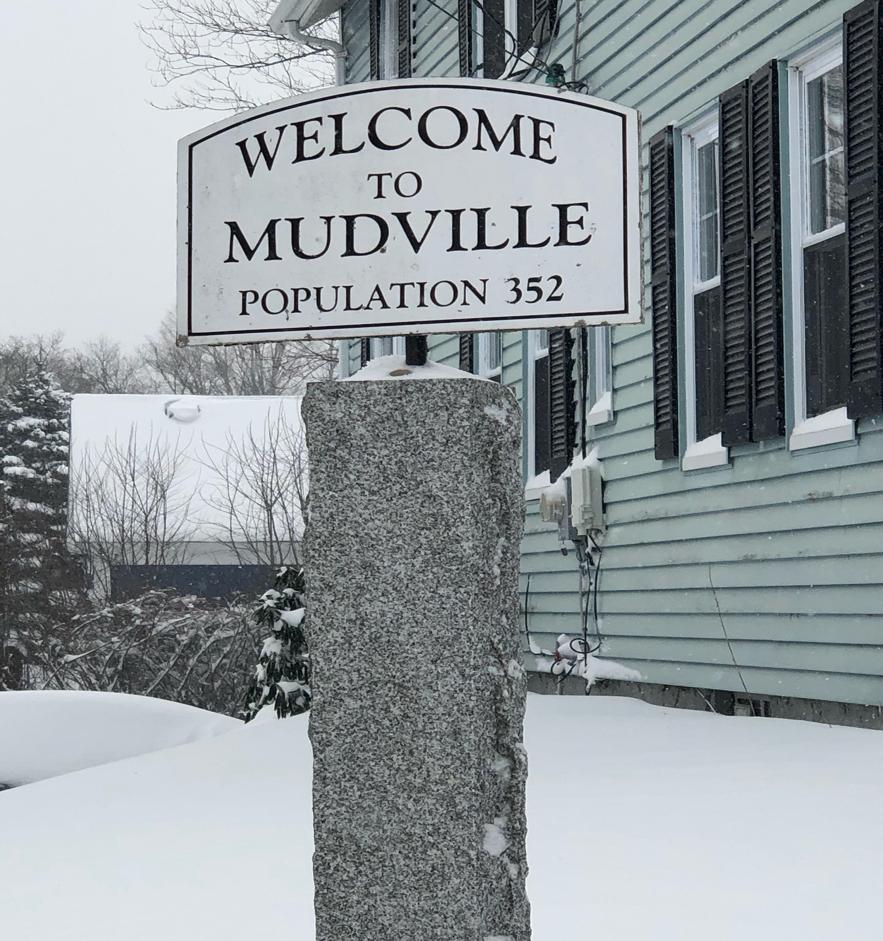 December Snowstorm in Mudville, 2020 (JOANNE HULBERT)