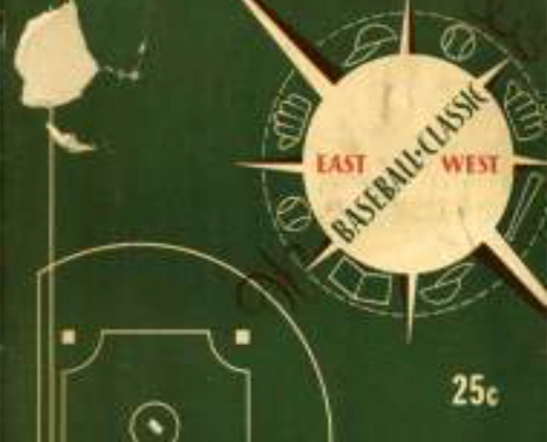 1948 Negro League East-West All-Star Game program (Courtesy of the Center for Negro League Baseball Research)