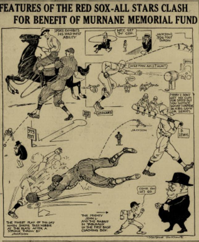 Boston Daily Globe, September 28, 1917:7.