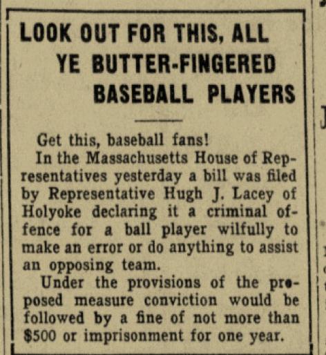 Boston Daily Globe, January 12, 1921:9.