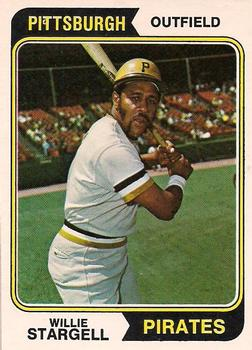 Willie Stargell led the major leagues in OPS at .944 (THE TOPPS COMPANY)
