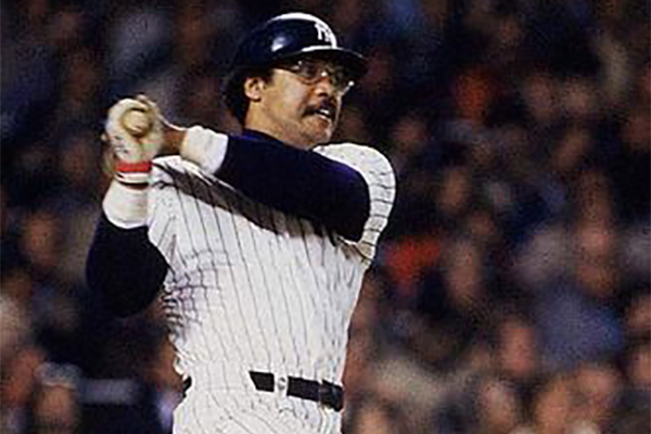 Reggie Jackson hit three home runs in Game 6 of the 1977 World Series (MLB.COM)