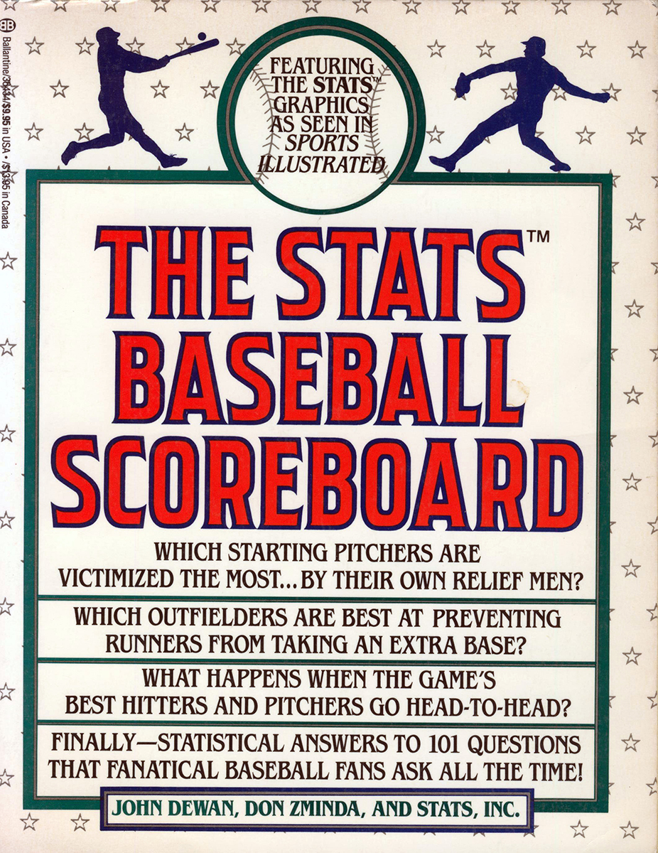 The first STATS Baseball Scoreboard was published in 1990 (COURTESY OF DON ZMINDA)