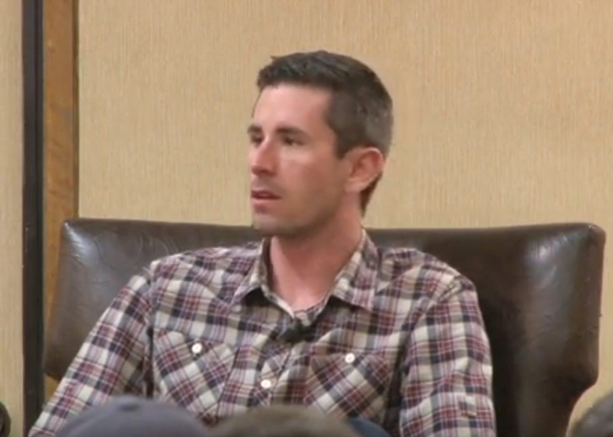 Brandon McCarthy of the Oakland A's highlighted the first SABR Analytics Conference in 2012.