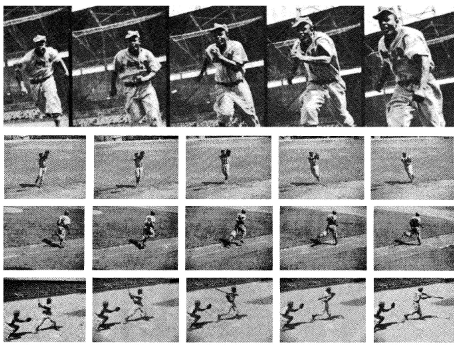 Terrell photographs of Jackie Robinson, October 7, 1945. (COURTESY OF JOHN THORN)