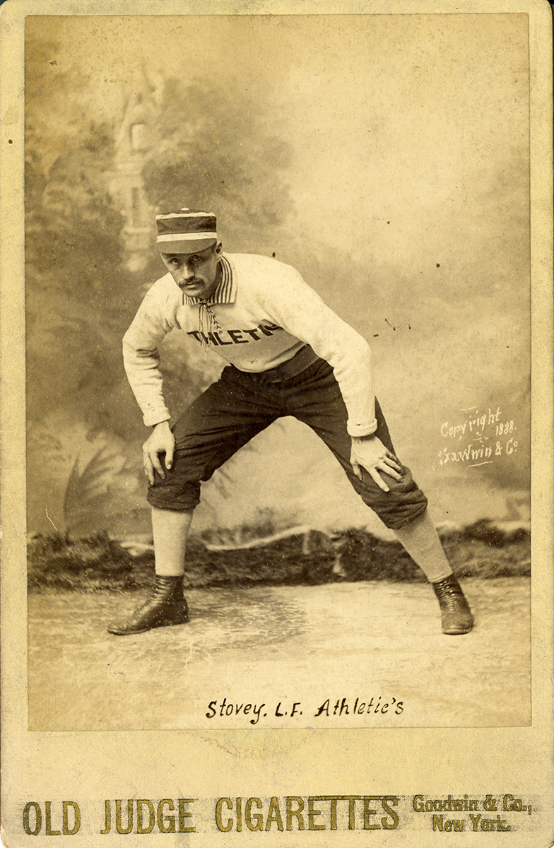 Harry Stovey (NATIONAL BASEBALL HALL OF FAME LIBRARY)