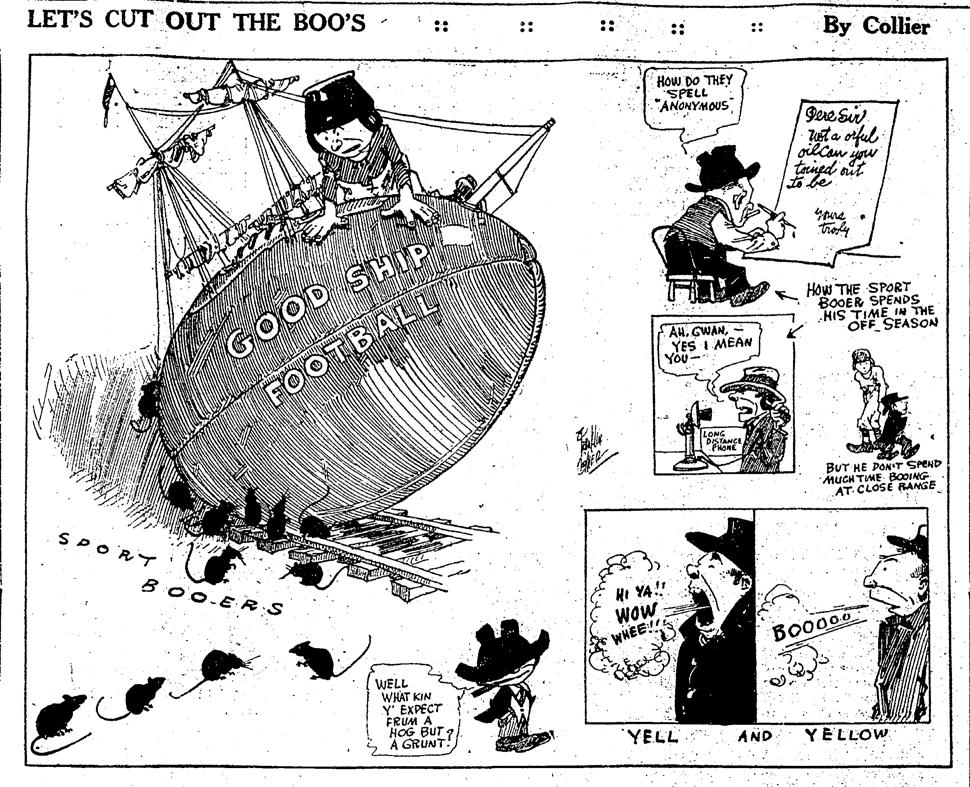 Franklin Collier, Boston Herald, November 1, 1921:14.