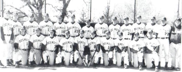 De Smet Baseball- Keppel back row fourth from right (BOBBY KEPPEL)