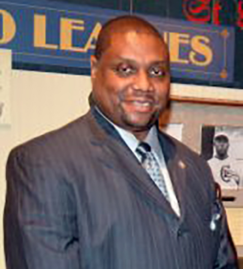 Dr. Raymond Doswell (NEGRO LEAGUES BASEBALL MUSEUM)