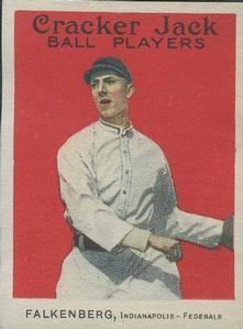 Cy Falkenberg (TRADING CARD DB)