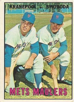 Ed Kranepool and Ron Swoboda (TOPPS)