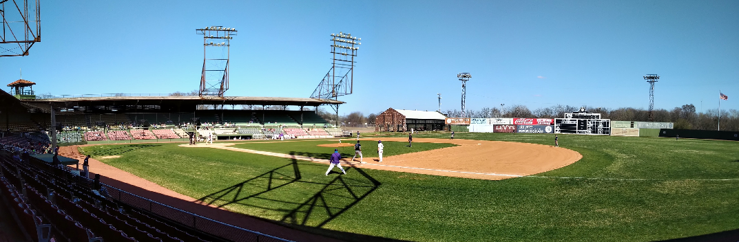 SABR chapter meeting at Rickwood Field in Birmingham, March 6, 2021 (JEB STEWART)