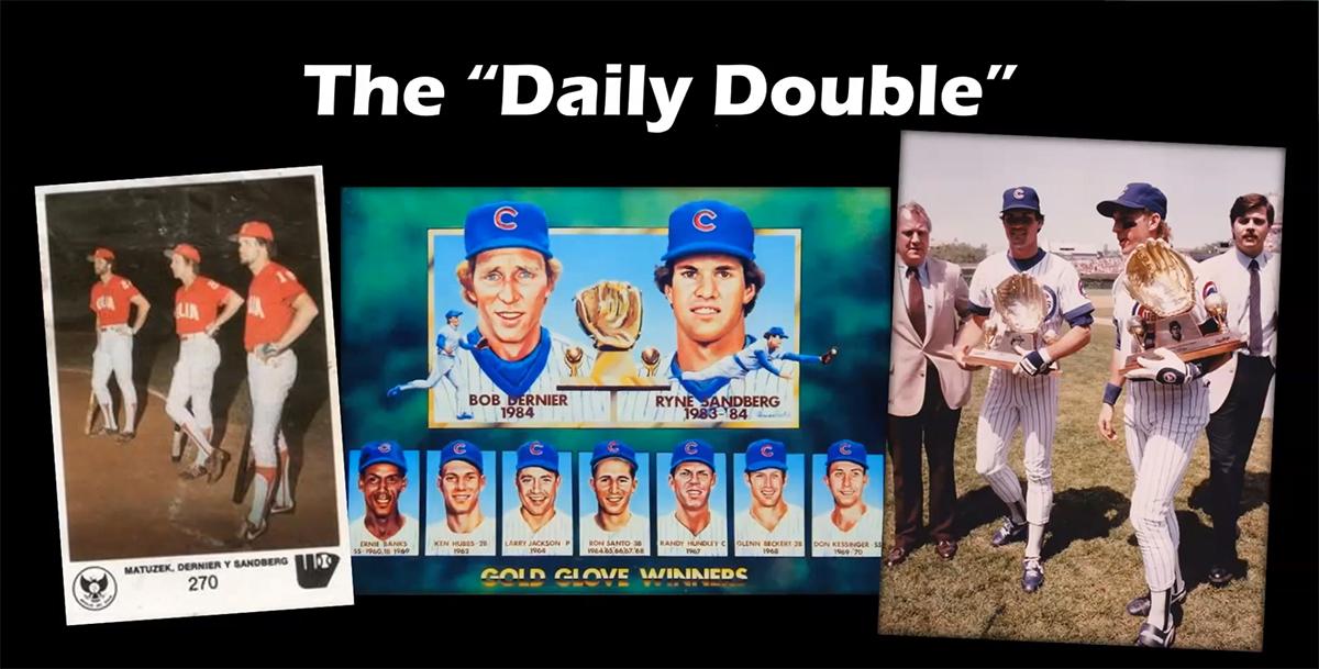 Ryne Sandberg and Bob Dernier, Chicago Cubs
