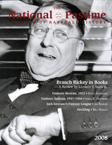 The National Pastime (Volume 28, 2008)