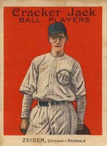 Rollie Zeider (TRADING CARD DB)