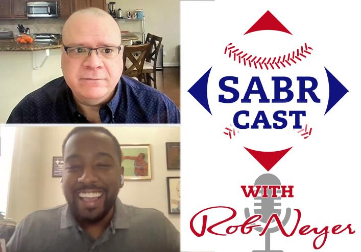SABRcast #103: Tony Adams and Bradford William Davis