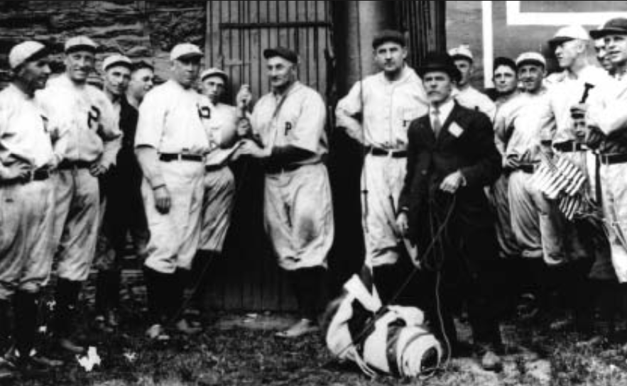 Flag Day in Philadelphia, June 4, 1916 (NATIONAL BASEBALL HALL OF FAME LIBRARY)