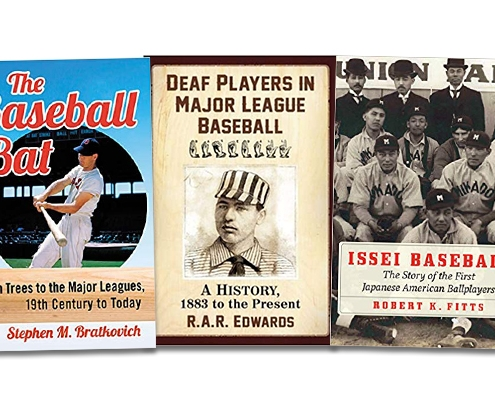 2021 SABR Baseball Research Award winners: Steven Bratkovich, R.A.R. Edwards, Rob Fitts