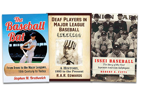 2021 SABR Baseball Research Award winners: Steven Bratkovich, R.A.R. Edwards, Rob Fitts